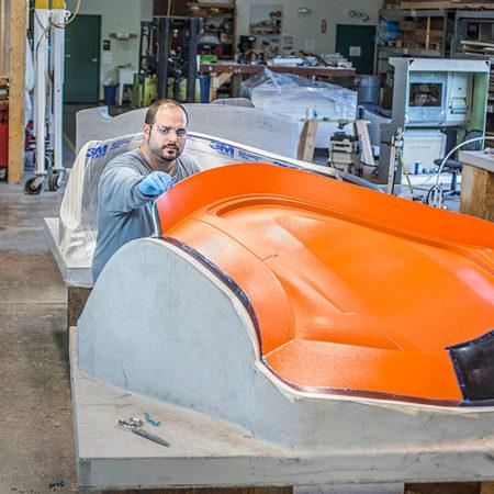 Carbon fiber door tooling For Terrafugia