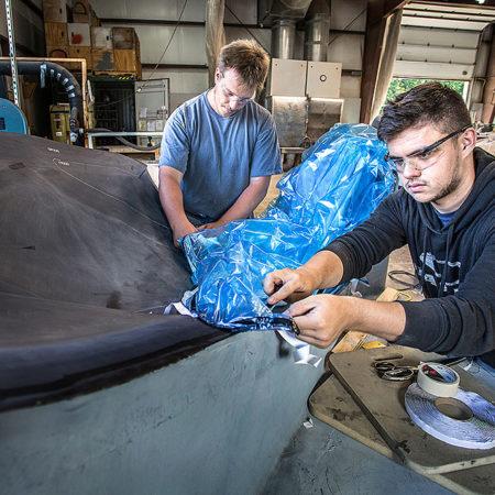 Carbon fiber tooling for Terrafugia