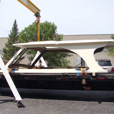 Rooftop for 43' Powerboat