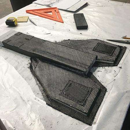 Carbon fiber tooling for Engineered Automation of Maine