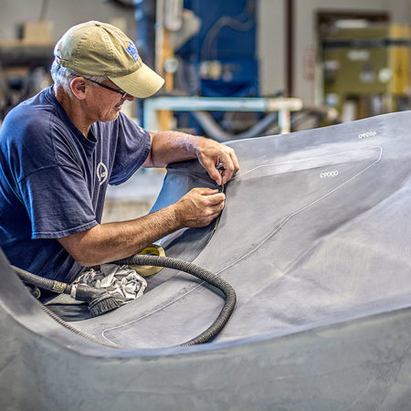 Terrafugia Flying Cars carbon fiber tooling