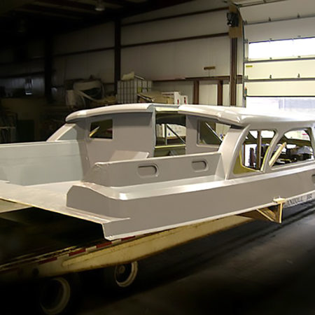"Pilothouse for 98' ""Windcrest"", for Hodgdon Yachts"